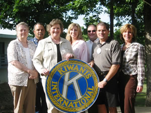 Ozark Coast Kiwanis raised money for a new walking track